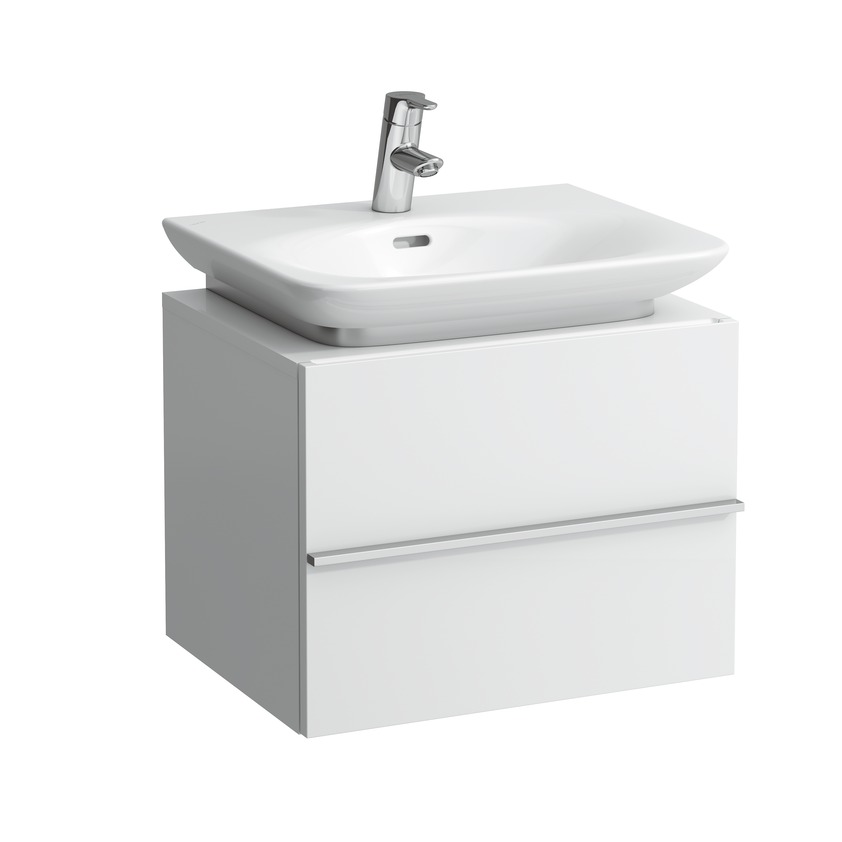 401151 vanity unit with 1 drawer and space saving siphon for washbasin 810701 0
