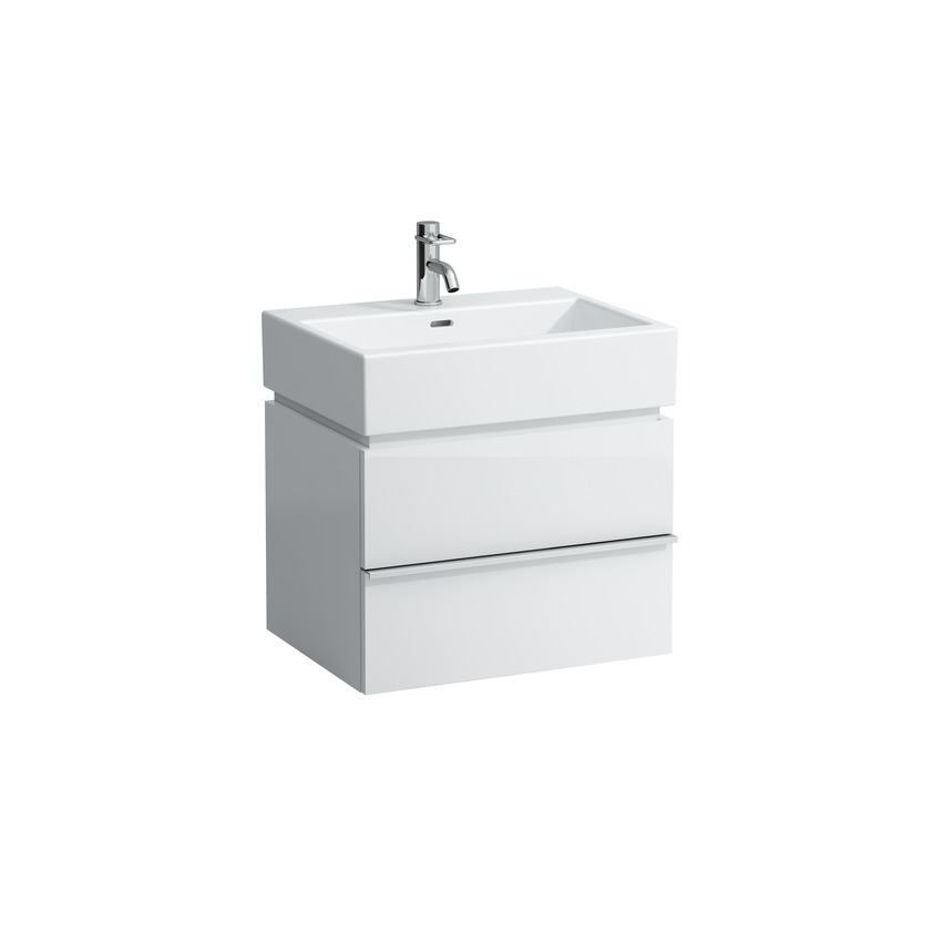 401182 vanity unit with 2 drawers with space saving siphon for washbasin 817433   living city 0