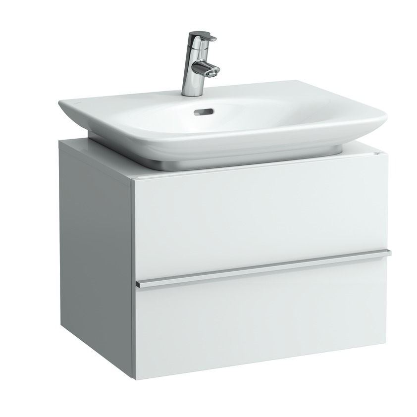 401201 vanity unit with 1 drawer and space saving siphon for washbasin 810702  810703 0