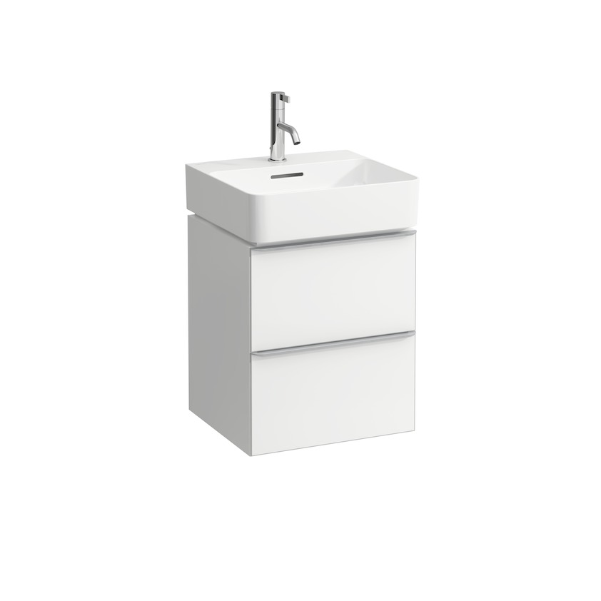 410102 vanity unit  with 2 drawers  with space saving siphon  for washbasin 815281 0