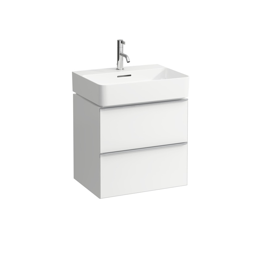 410122 vanity unit  with 2 drawers  with space saving siphon  for washbasin 810282 0