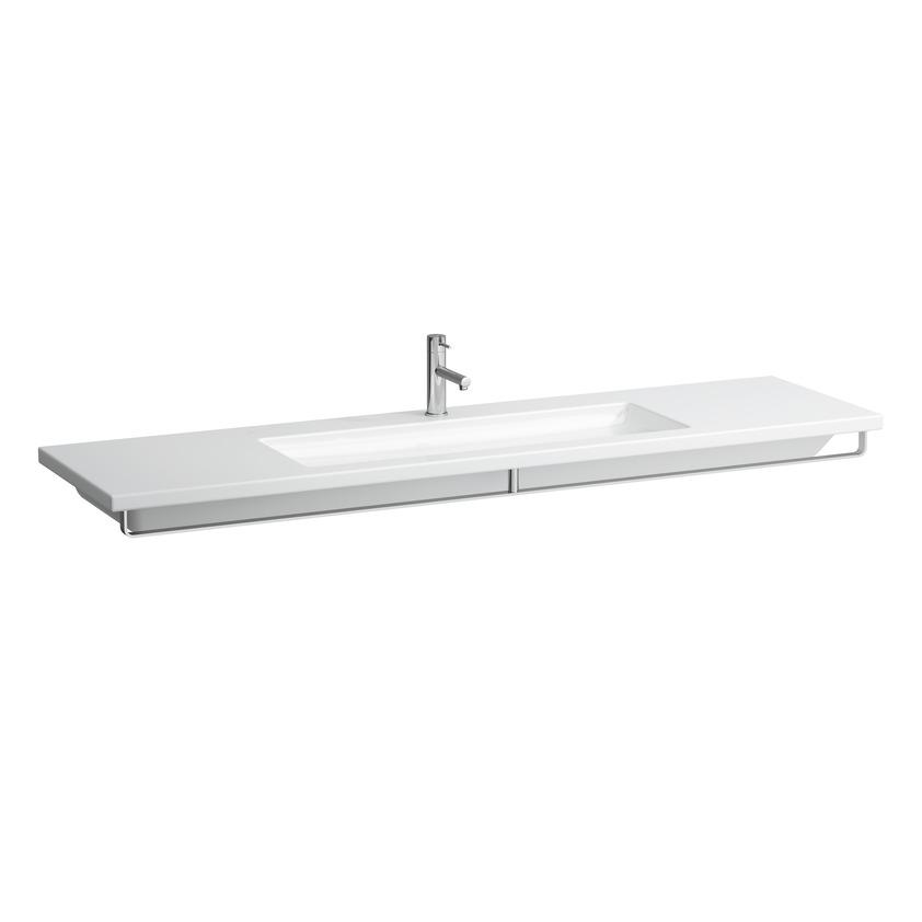 381435 towel rail  chrome  matches washbasin living square 1800 mm 816438 0