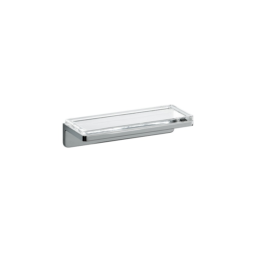 385682 glass shelf  chrome surface 0