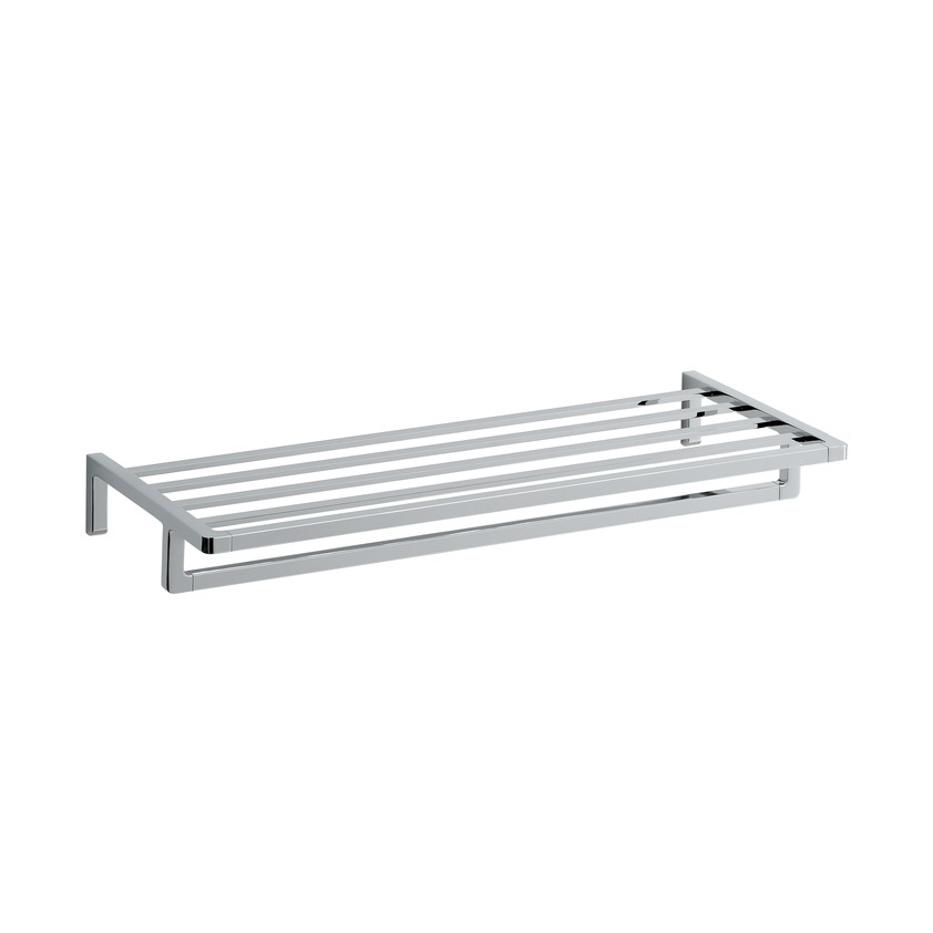 381684 towel rack  640 mm  chrome surface 0