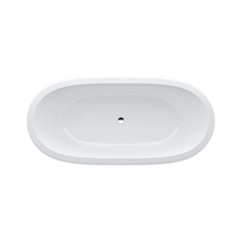245972 bathtub  solid surface material  freestanding version  with lifting system 0