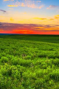 Sunset over the Kansas Flint Hills on Designer Page