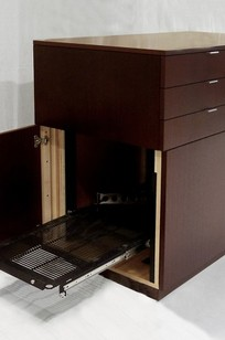 "54"" Ribbon Mahogany Credenza - Serco on Designer Page"