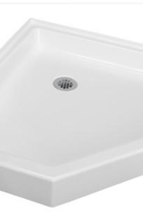 Colorfloors Corner Shower bases - SB4242C on Designer Page