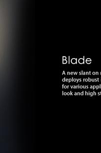 Blade on Designer Page