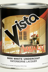6600 AquaLac Waterborne Lacquer Undercoat on Designer Page