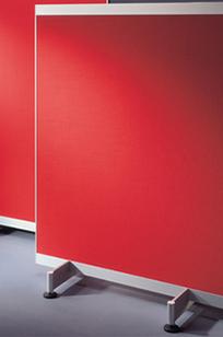 VIP Room Dividers - Noticeboard on Designer Page