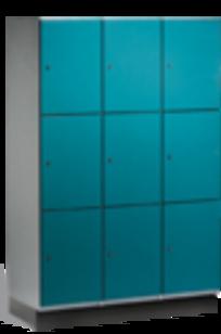 Assembled Box Lockers on Designer Page