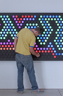 Everbright Interactive Wall Display on Designer Page