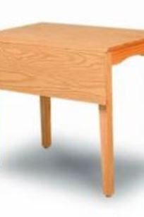 Rectangular Drop Leaf Table on Designer Page