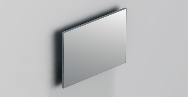 Mirror  aluglass  31 x24  0