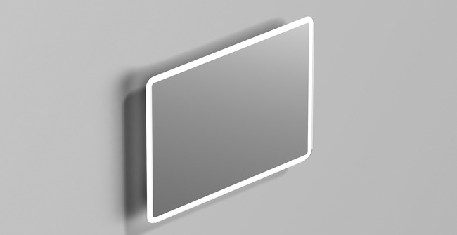 Mirror basic back ligh 31 x24  0