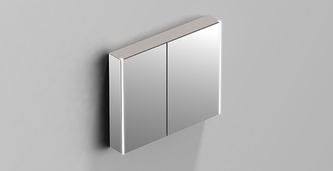 Mirror cabinet 2 doors 80 led 0