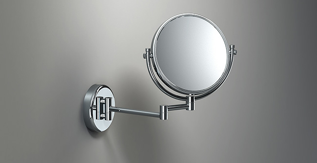 Magnifying mirror 2 arms  x3  standard 0