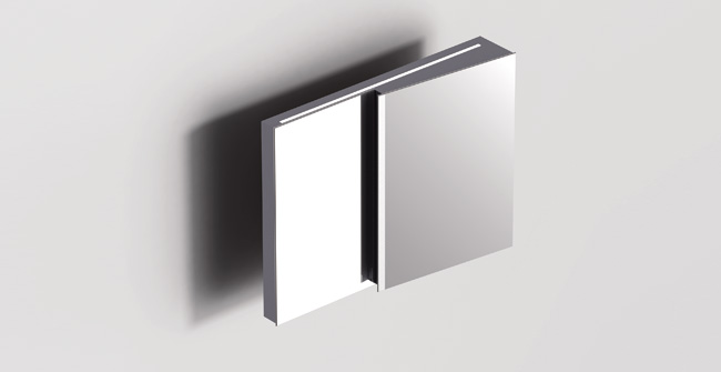 Mirror cabinet 36  led 0