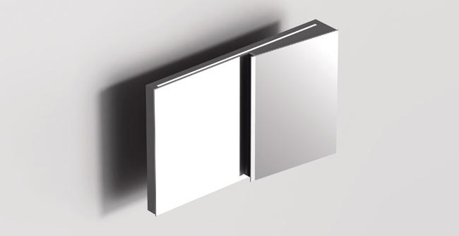 Mirror cabinet 43  led 0