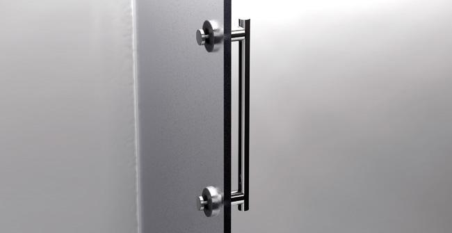 Shower door bar 18  0