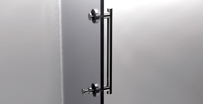 Shower door bar 16    hook 0