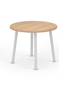 "Sven 36"" Round Work Table on Designer Page"