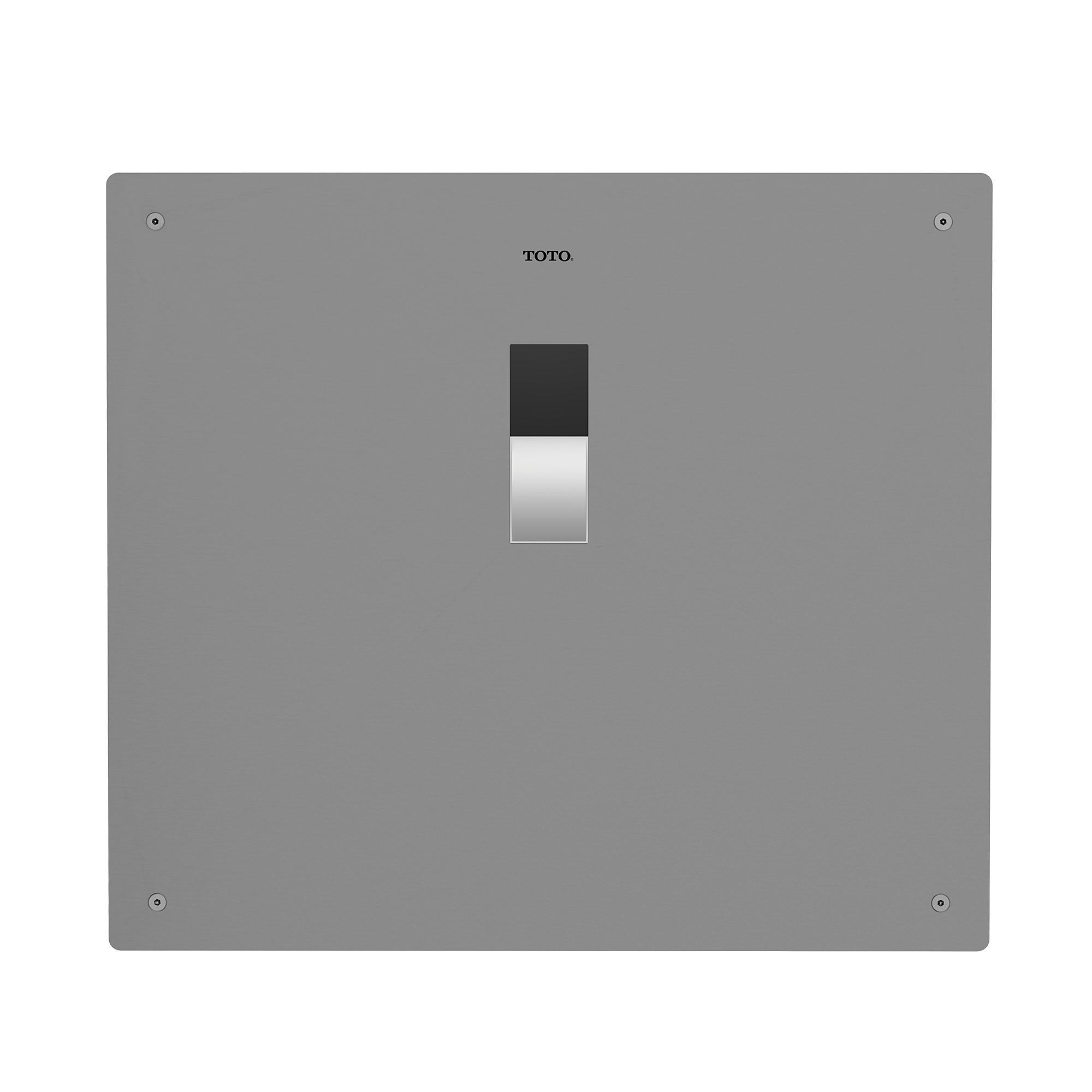 Teu2la12 ss ecopower  high efficiency concealed urinal flush valve   0 5 gpf  v b  set   top spud  0