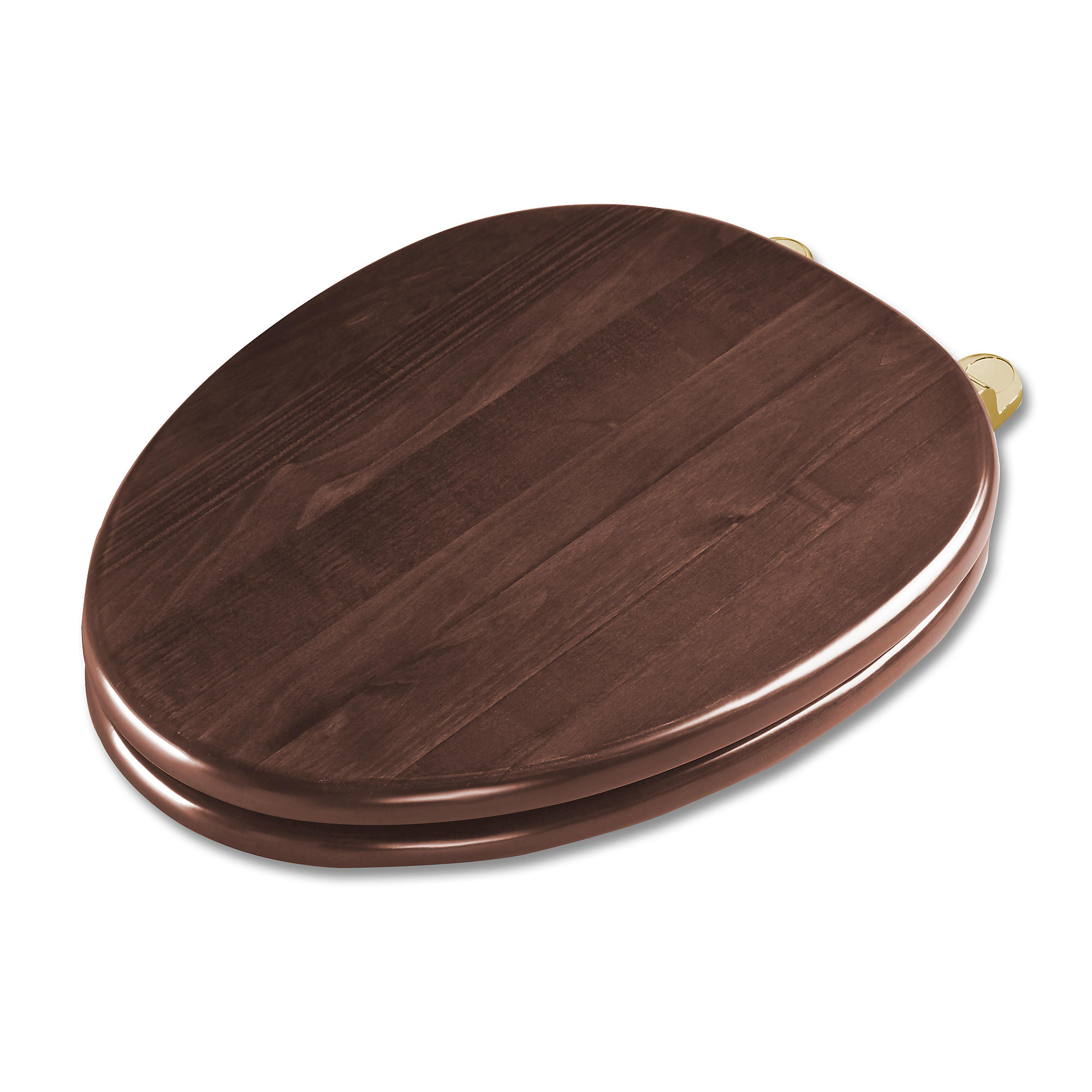 Ss303 pb maple softclose  toilet seat   round 0