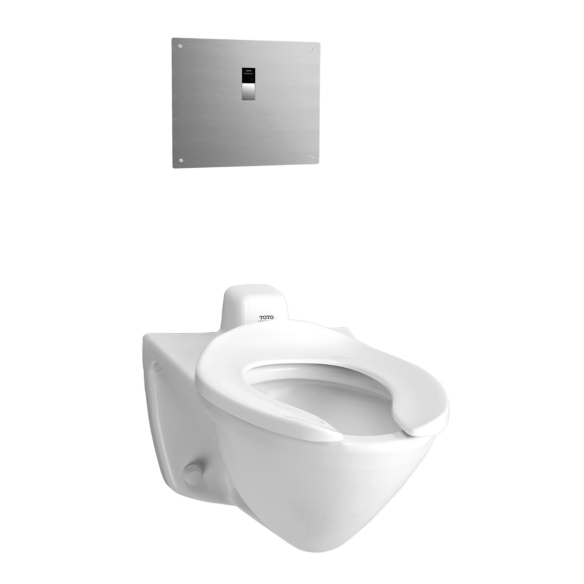 Ct708evg 01 commercial flushometer high efficiency toilet  1 28 gpf  elongated bowl  back inlet spud 0