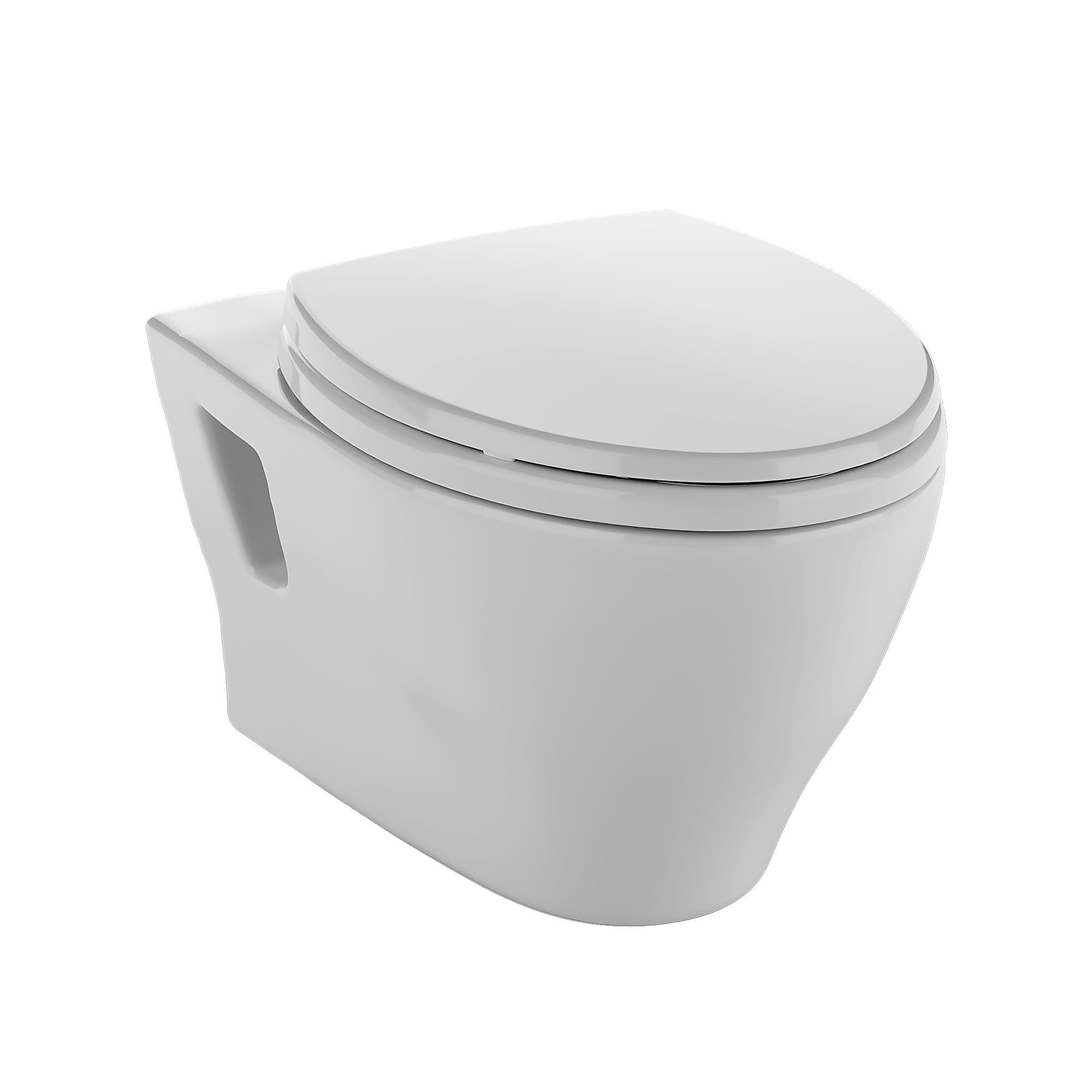 Ct418fg 01 aquia  wall hung dual flush toilet  1 6 gpf   0 9 gpf  elongated bowl 0