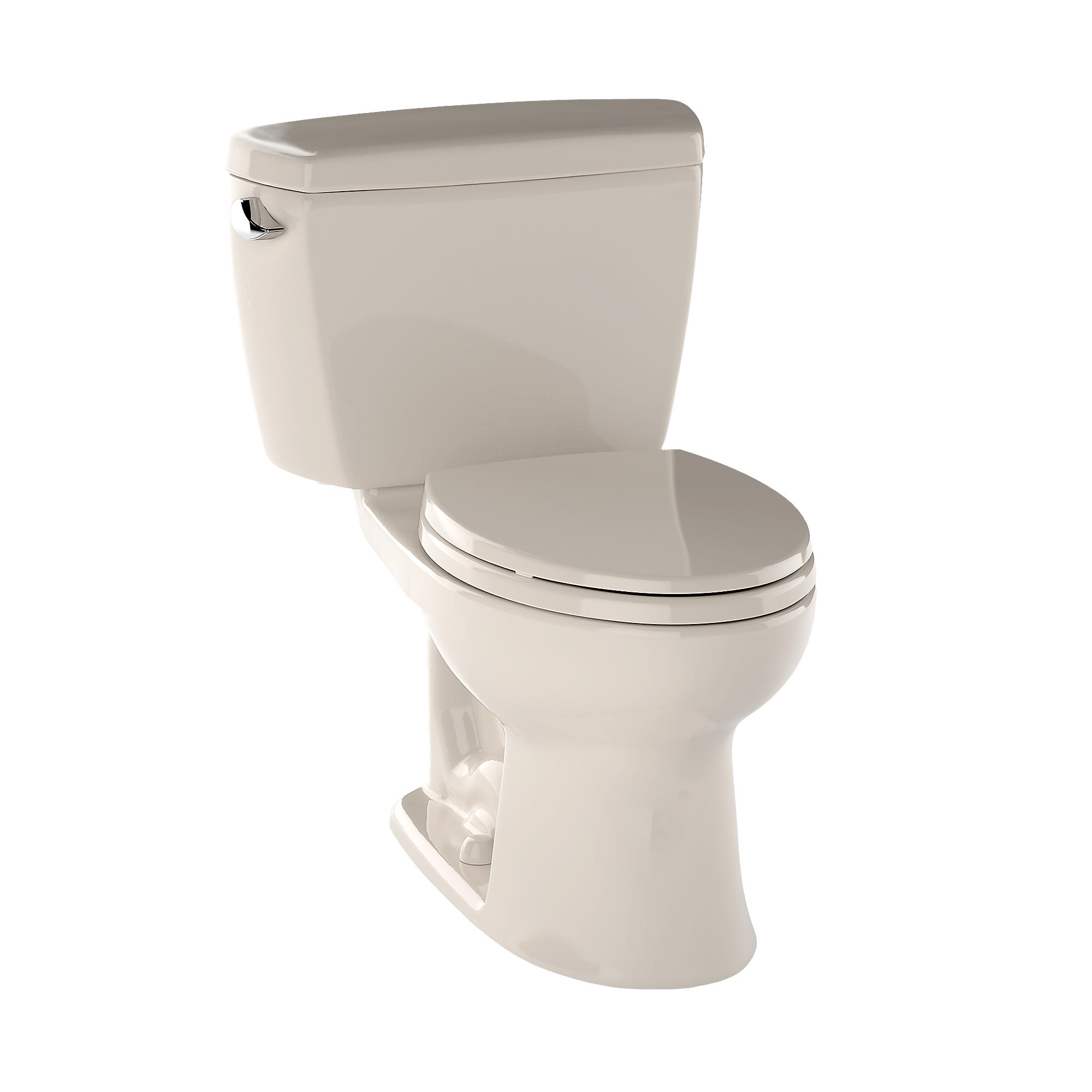 Cst744e 03 eco drake  two piece toilet  1 28 gpf  elongated bowl 0