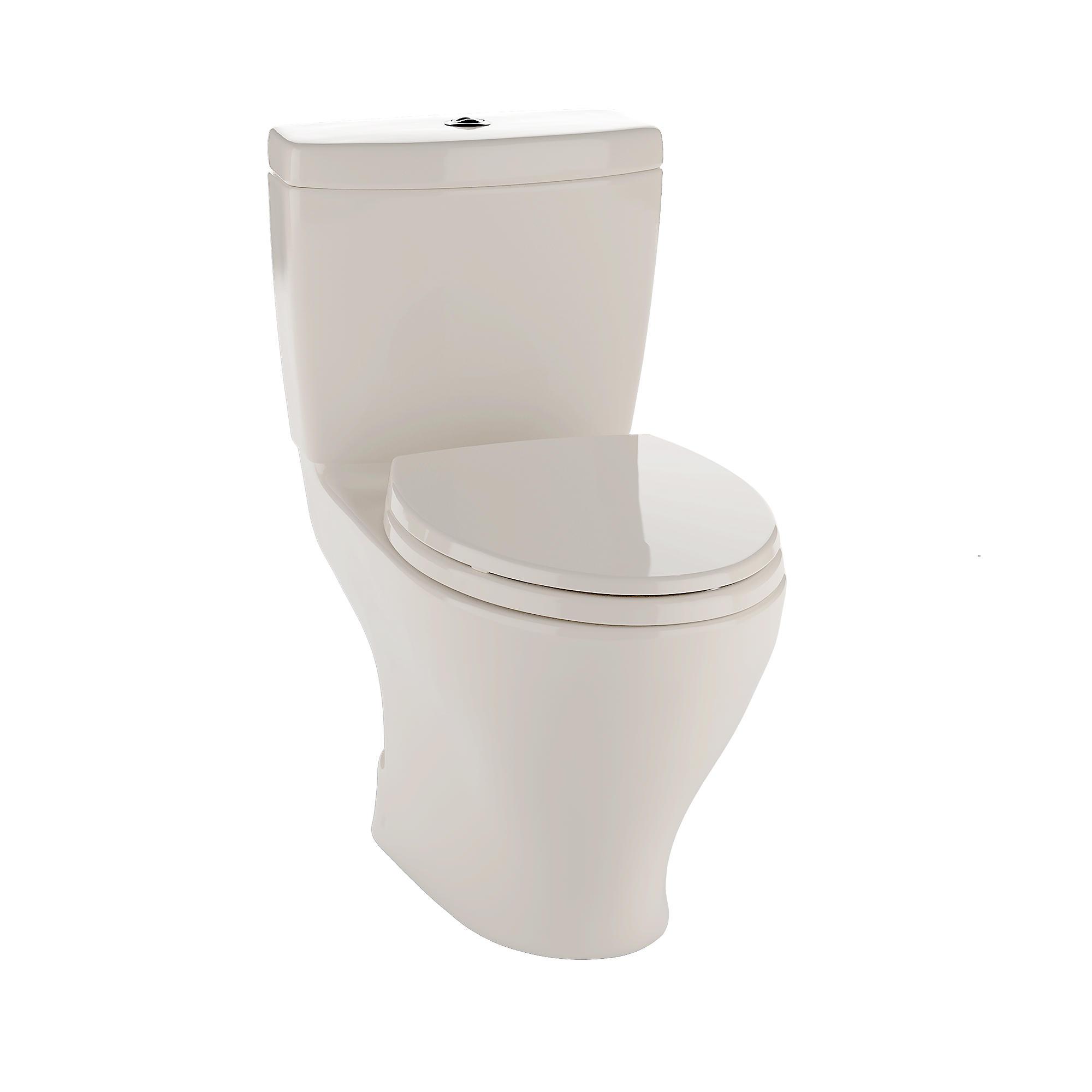 Cst416m 12 aquia ii dual flush two piece toilet  1 6 gpf   0 9 gpf  elongated bowl 0