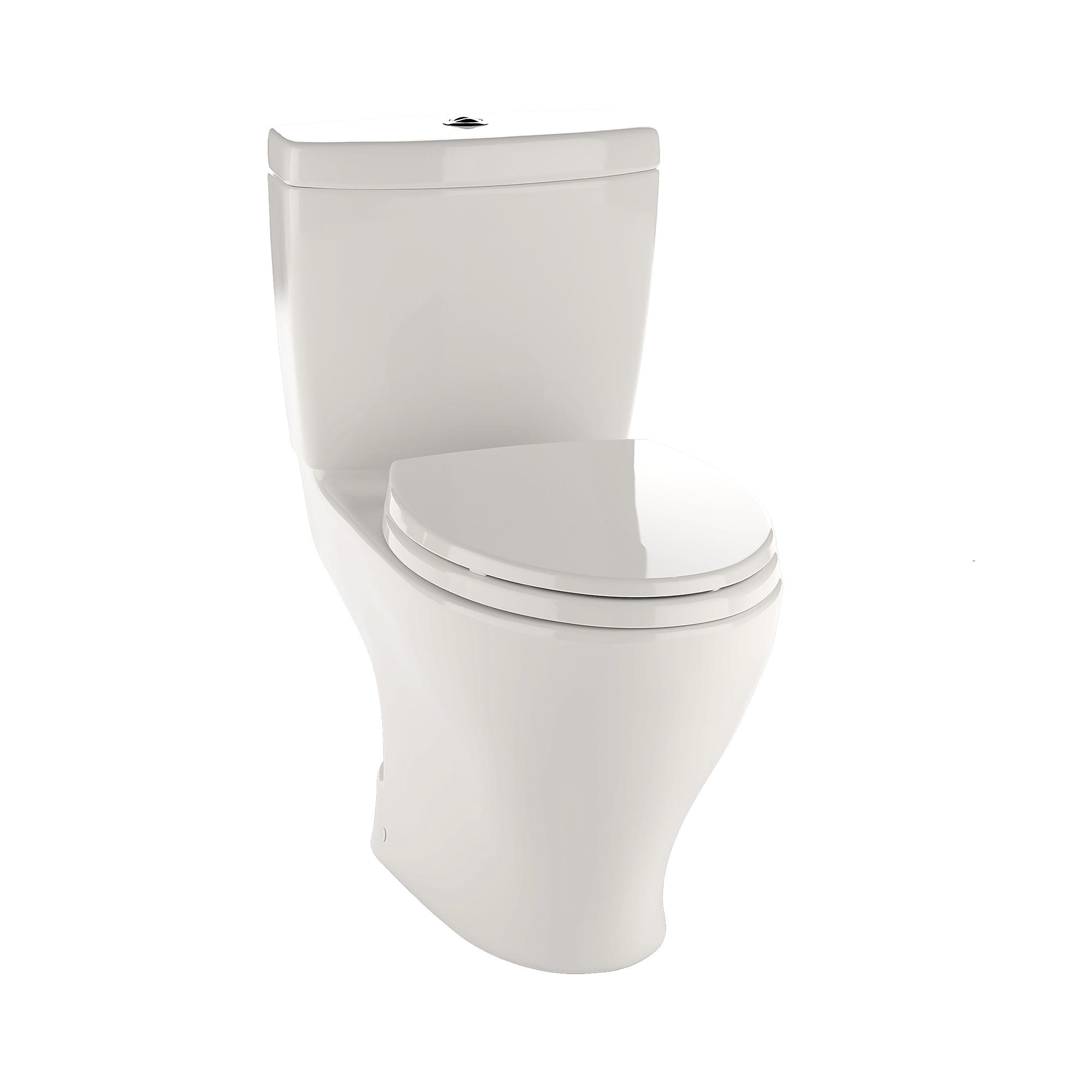 Cst412mf 12 aquia  dual flush two piece toilet  1 6 gpf   0 9 gpf  elongated bowl 0