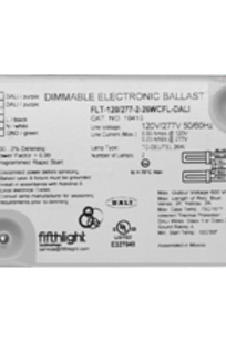 DALI CFL Ballasts on Designer Page