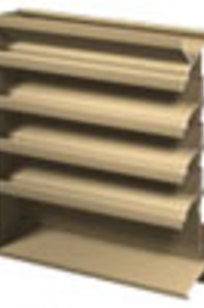 Combination Extruded Louver/Dampers on Designer Page