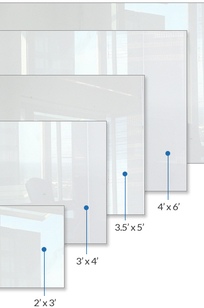 Glass Marker Boards on Designer Page