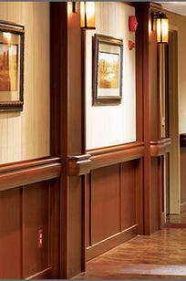 Saratoga® Wall System on Designer Page