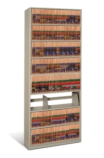 """5-High Medical Record Shelving 36""""W on Designer Page"""
