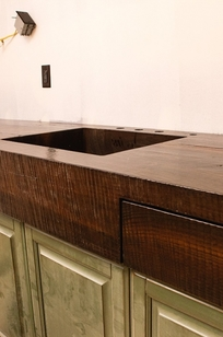 WoodForm Concrete® countertop on Designer Page