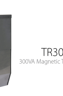 TR300 Magnetic Transformer on Designer Page