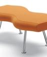 Bench orange medium cropped