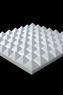 FireFlex™ Pyramid Acoustical Foam on Designer Page