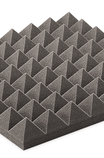 Traditional Pyramid Acoustical Foam on Designer Page