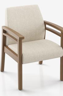 Cooper Bracebridge - Single Seater with Arms - 6501M on Designer Page