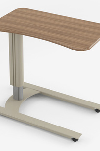 Overbed Tables - Overbed Table with U Base - TOVERBED-U on Designer Page