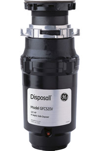 GE® 1/2 HP Continuous Feed Garbage Disposer - Non-Corded - GFC520V on Designer Page
