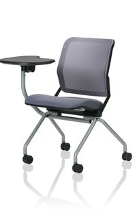 Torsion Air Nesting Tablet Arm Chair on Designer Page