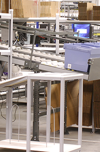 Material Handling Workbenches on Designer Page