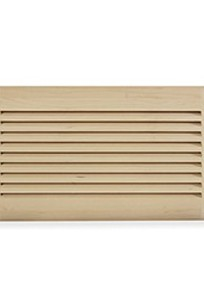 "LWAVG2/612-83 - 6"" x 12"" Wood Air Vent Grille (Maple) on Designer Page"